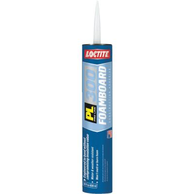 LOCTITE PL 300 28 Oz. Low VOC Foam Board Construction Adhesive
