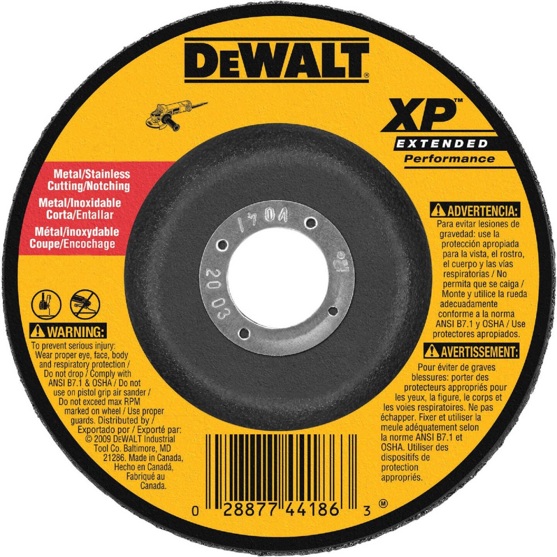 DeWalt HP Type 27 7 In. x 0.045 In. x 7/8 In. Metal/Stainless Notching Cut-Off Wheel Image 1