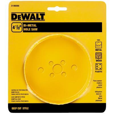 DeWalt 4-1/8 In. Bi-Metal Hole Saw