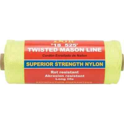 Do it 525 Ft. Fluorescent Yellow Twisted Nylon Mason Line