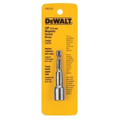 DeWalt Magnetic 3/8 In. x 2-9/16 In. Nutdriver Bit