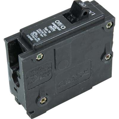 Connecticut Electric 30A Single-Pole Standard Trip Interchangeable Packaged Circuit Breaker