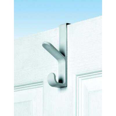 Spectrum White Plastic Over-The-Door Hook, 5-1/2 In.