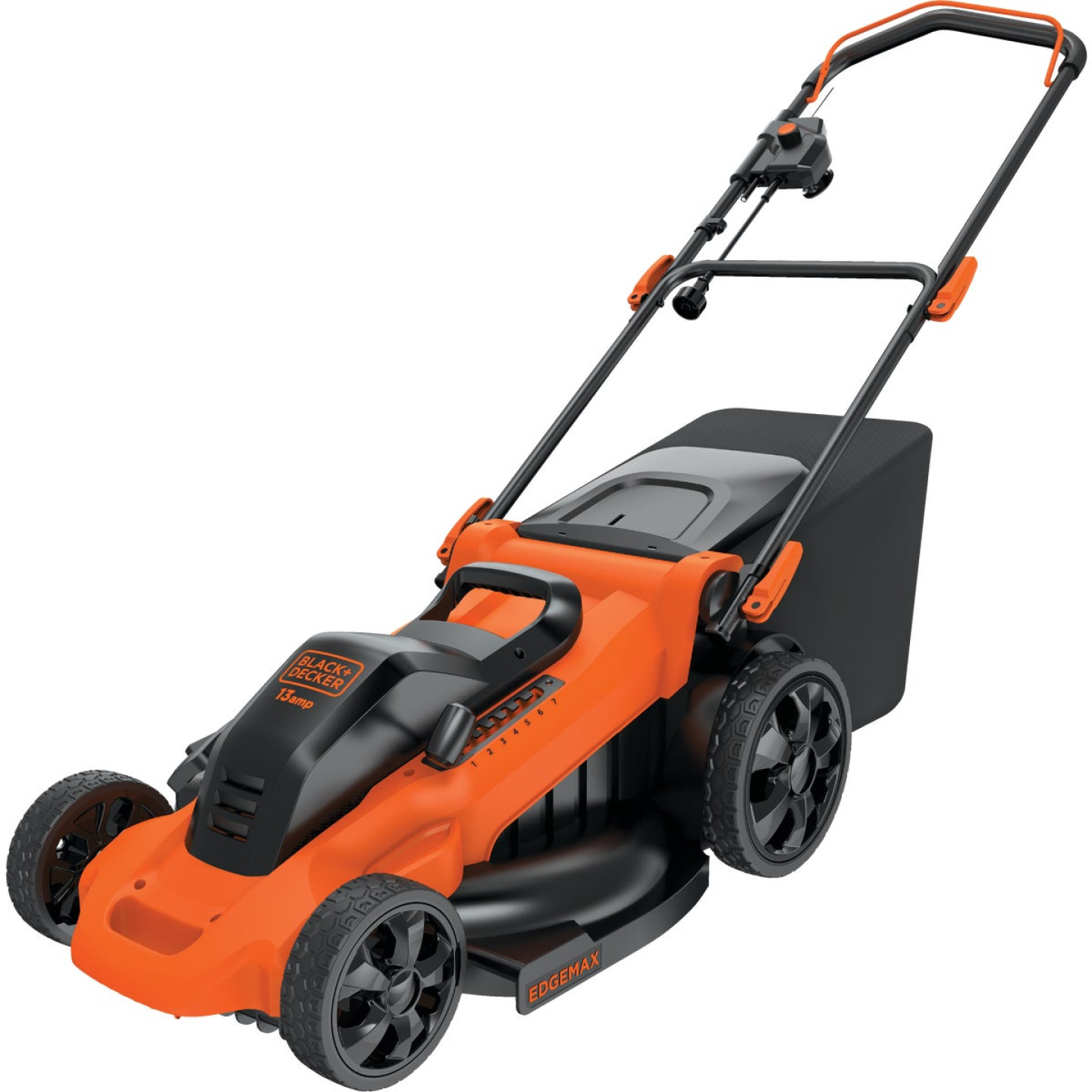 Black & Decker 20 In. 13A Push Electric Lawn Mower Image 1