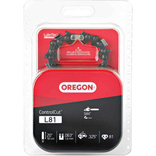 Oregon ControlCut L81 20 In. Chainsaw Chain