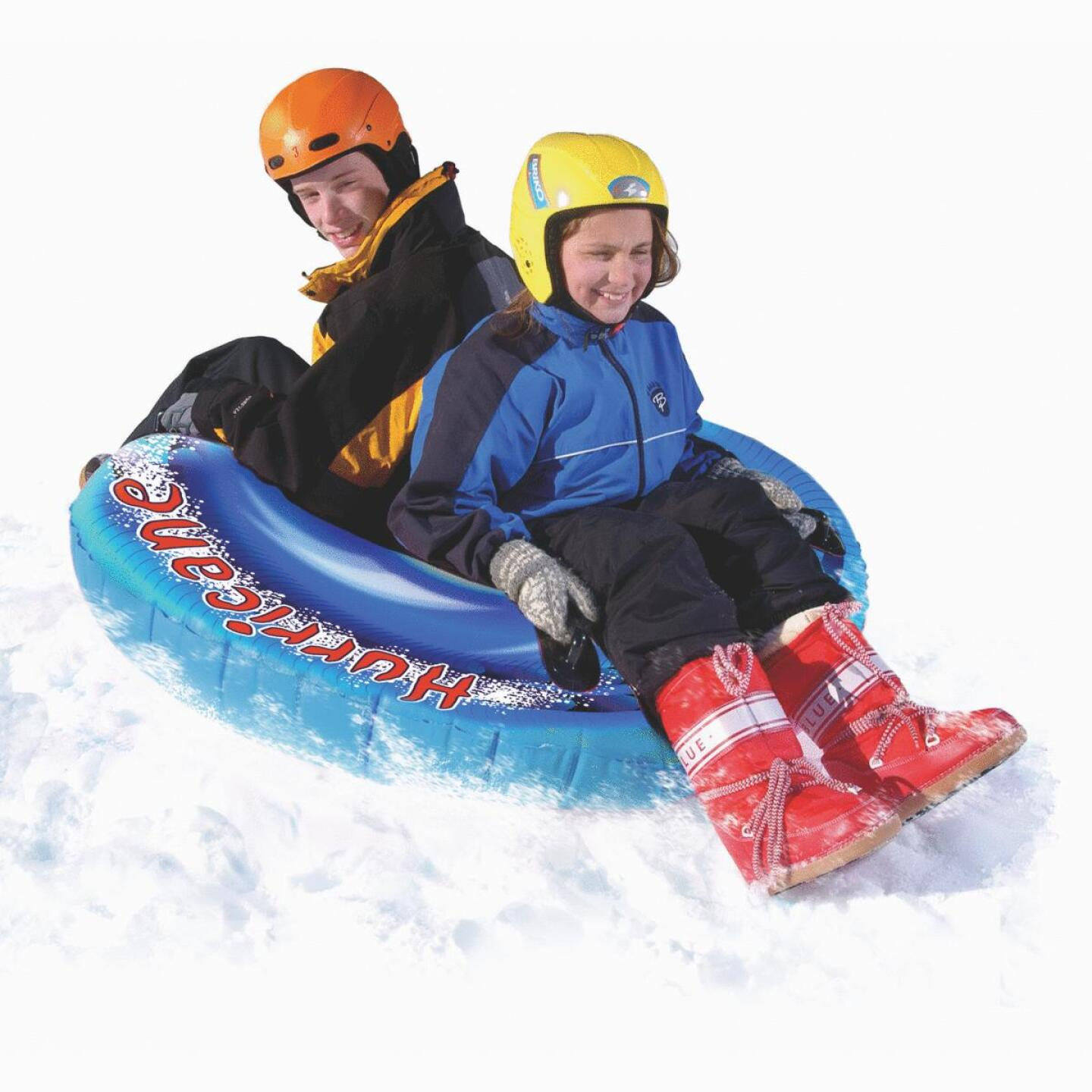 Flexible Flyer Hurricane 56 In. 16-Ga. Vinyl Snow Tube Image 2